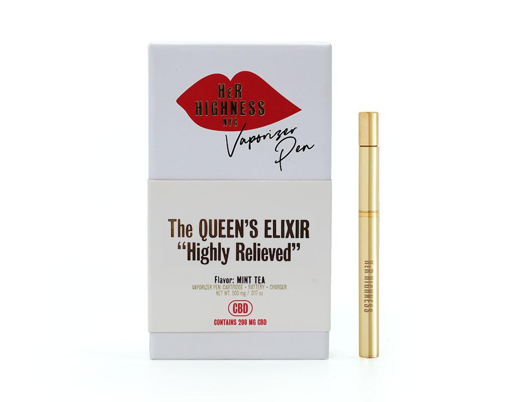 The Queen's Elixir Vape Pen Kit -  Highly Relieved