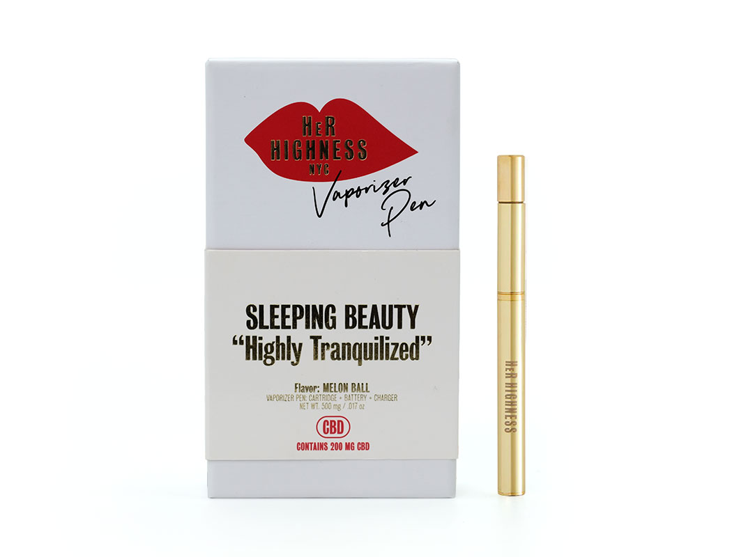 Sleeping Beauty Vape Pen - Highly Tranquilized