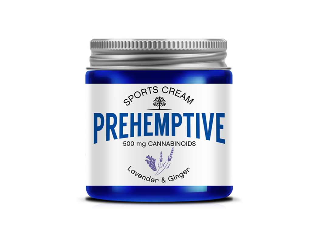 Lavender & Ginger Sports Cream - 500mg