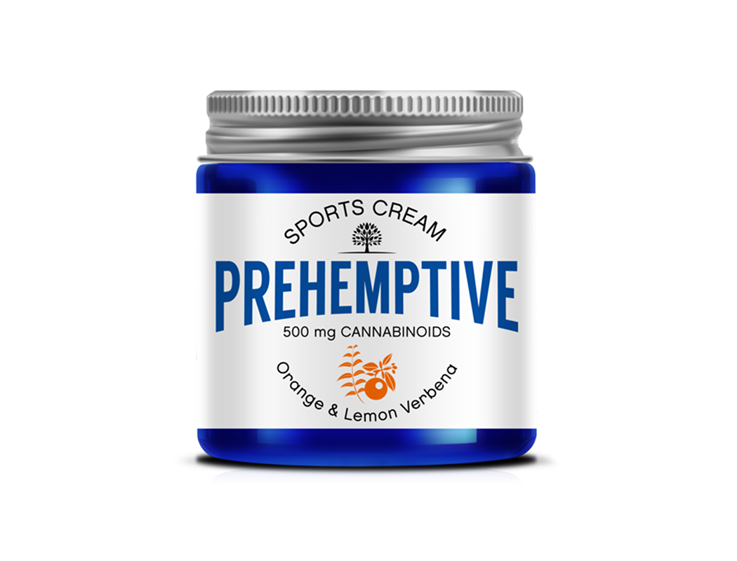 Orange & Lemon Verbena Sports Cream - 500mg